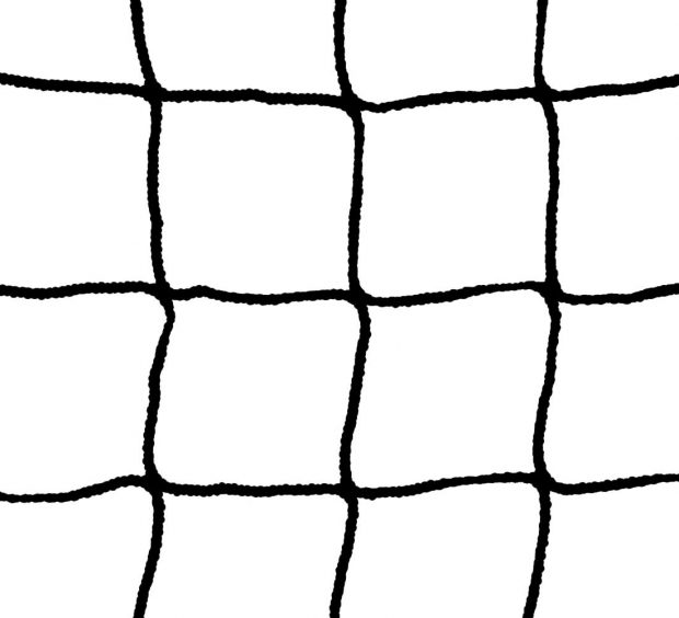 Black Hockey Goalpost Net