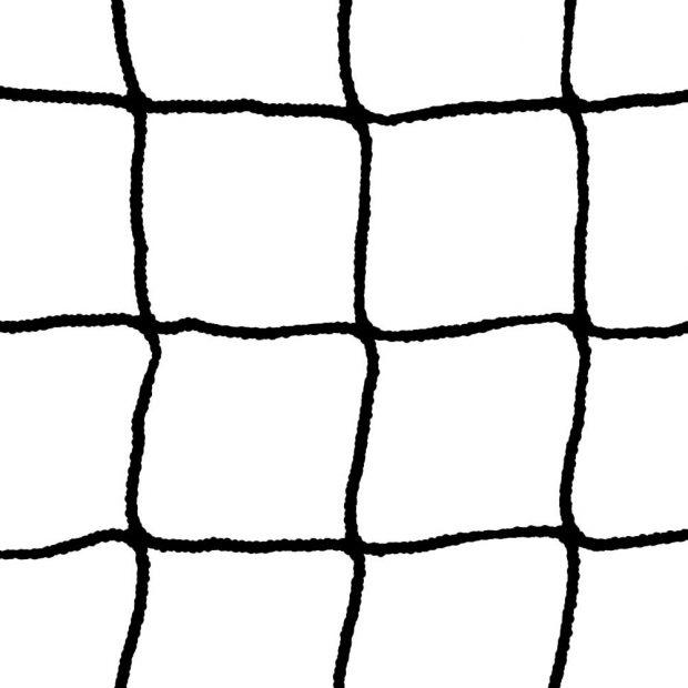 Black Hockey Goalpost Net