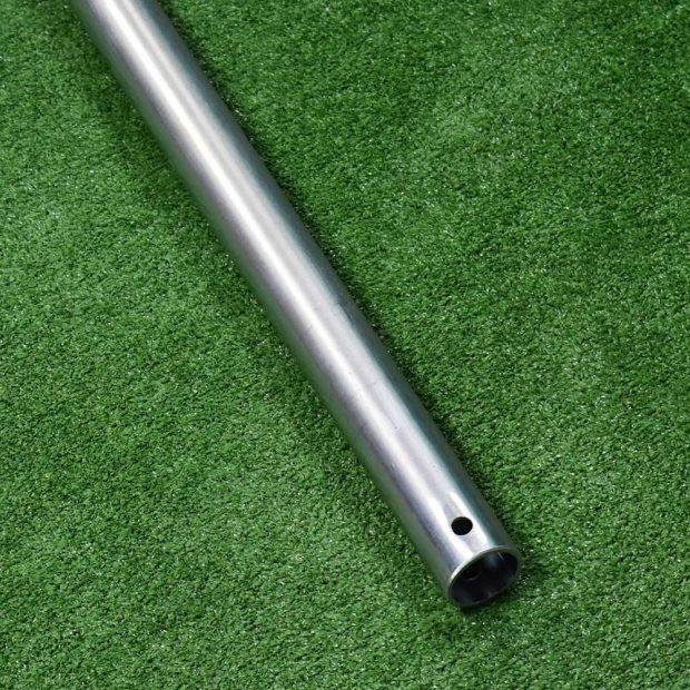 16FT Football Goalpost 42mm zinc plated back bar