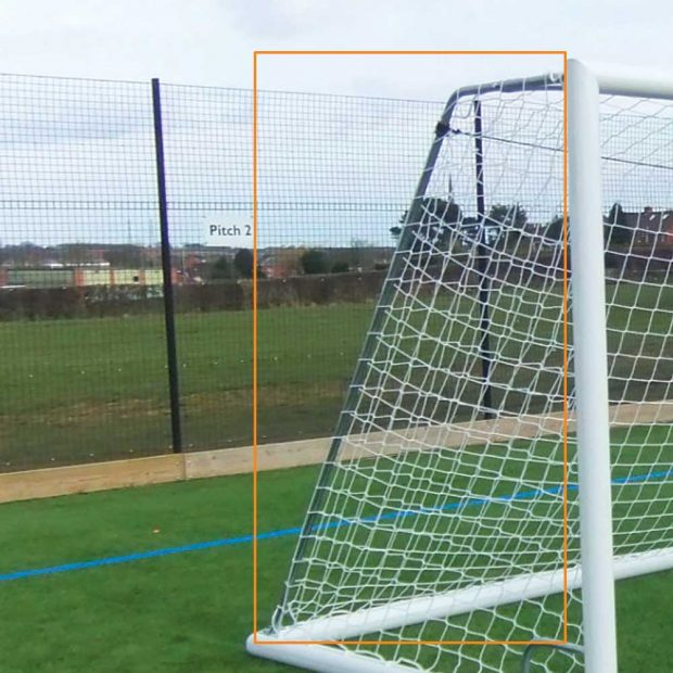 Freestanding Football Goal Net Support