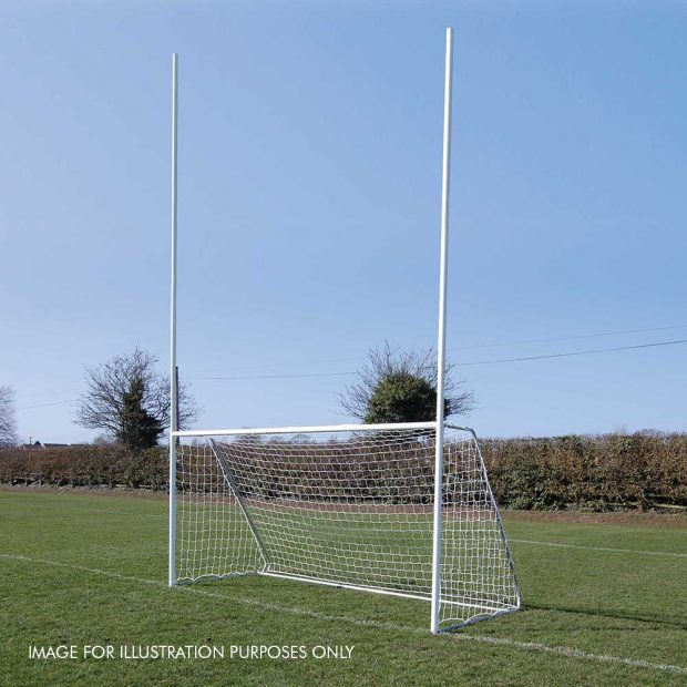 Gaelic football goal illustration only