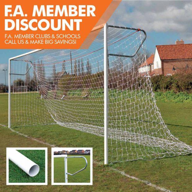 Mark Harrod Ltd Heavy duty Football Goal Package