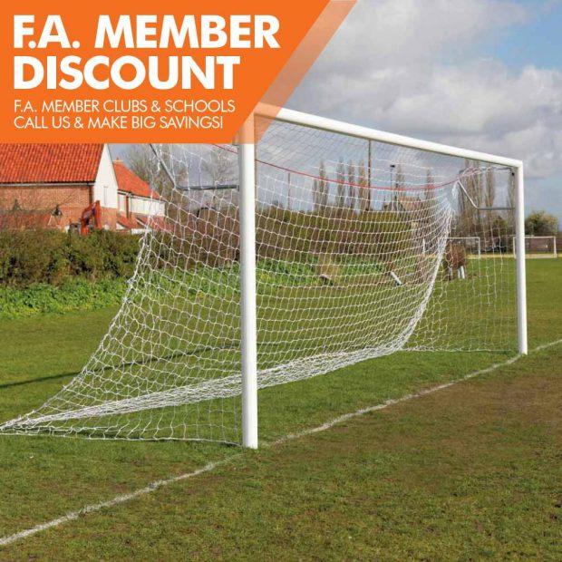 Mark Harrod Ltd Pemium Quick Release Aluminium Football Goal Package 4