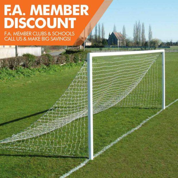 Mark Harrod Ltd Quick Release Aluminium Football Goal Package 3