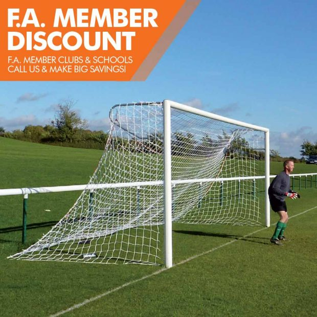 Mark Harrod Ltd Standard Aluminium Football Goal Package 3