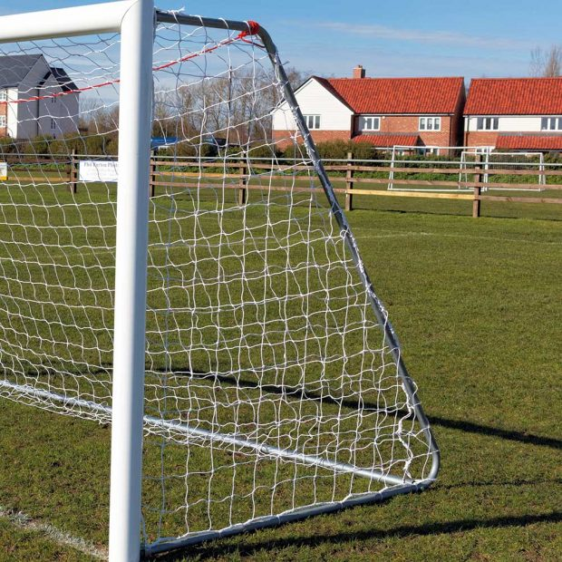 Fixed Side Football Goal Net Support
