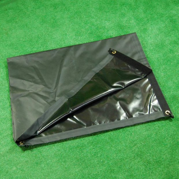 Pitch divider net bag