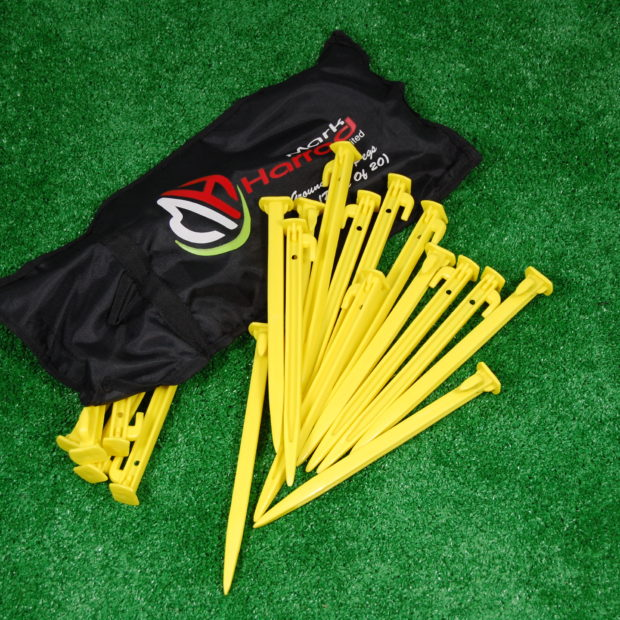 Plastic Net Pegs 8 Quot Plastic Net Pegs And Bag Football