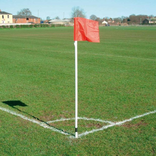 Two Colour Corner Flags