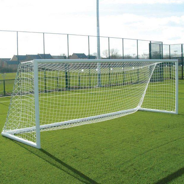 Quick Release Aluminium Freestanding Football Goal Package