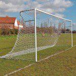 Heavy Duty Steel Socketed Football Goal Package