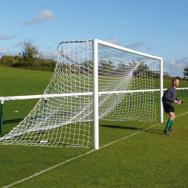 Standard Aluminium Socketed Football Goal Package
