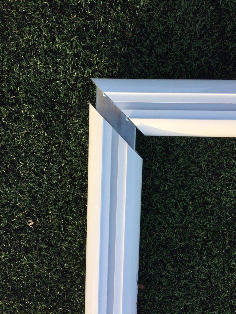Aluminium Corner Joints - Internal Goal Corner Joint by ...