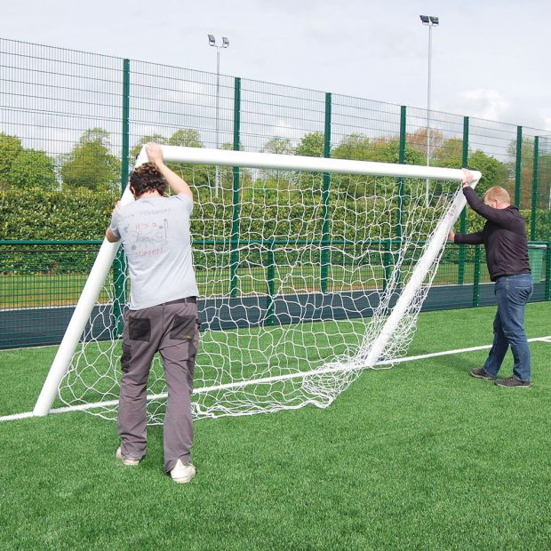 Quick Release Football Goal Install