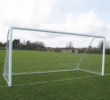 metal football goals