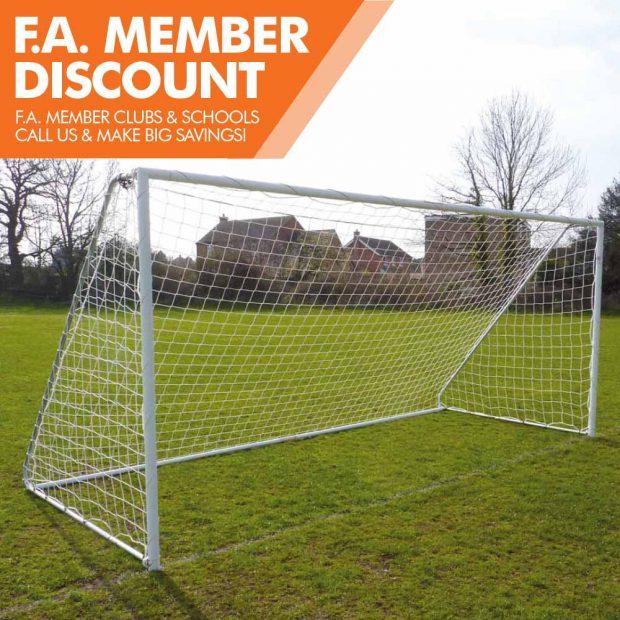 Mark Harrod Ltd Heavy Duty Folding Football Goal Package 2