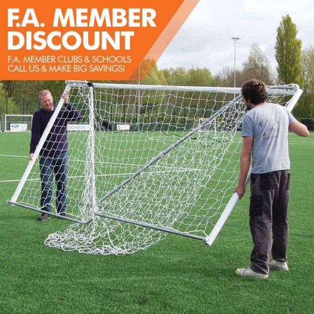 Mark Harrod Ltd Heavy duty folding Football Goal Package