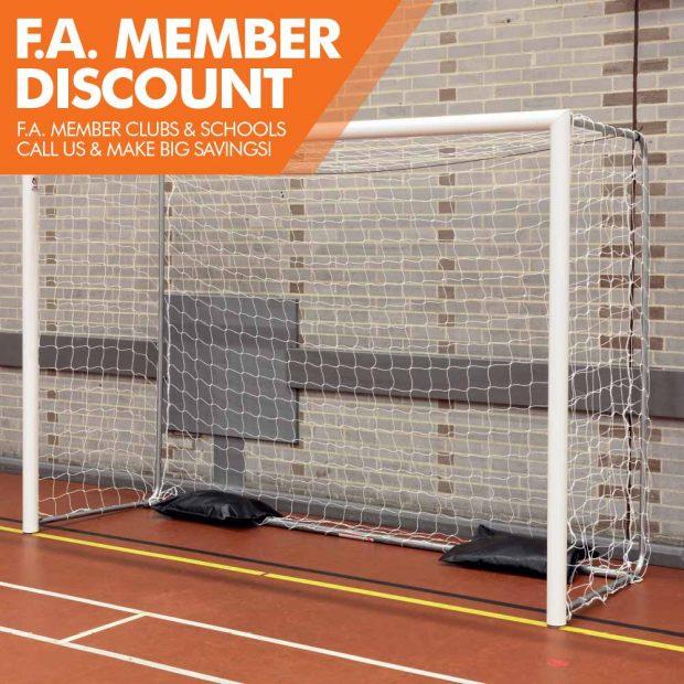 Mark Harrod Ltd Indoor Folding Futsal Goal package