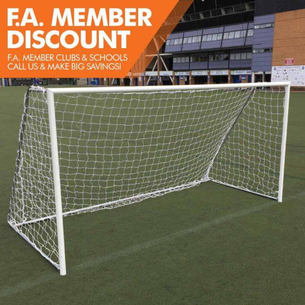Mark Harrod Ltd Lightweight Folding Football Goal Package