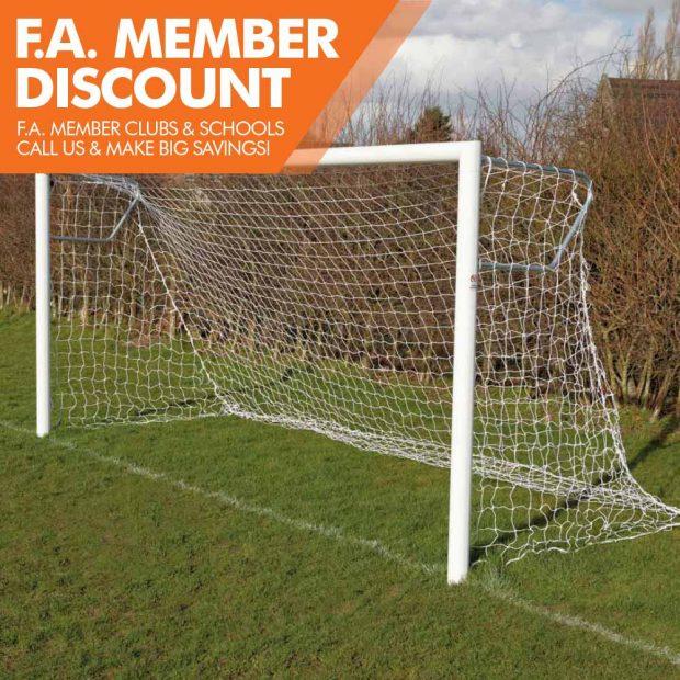 Mark Harrod Ltd Premium Quick Release Aluminium Football Goal Package 2