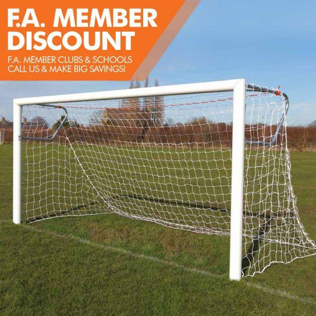 Mark Harrod Ltd Premium Quick Release Aluminium Football Goal Package 3