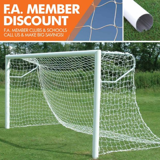 Mark Harrod Ltd Standard Aluminium Football Goal Package 2