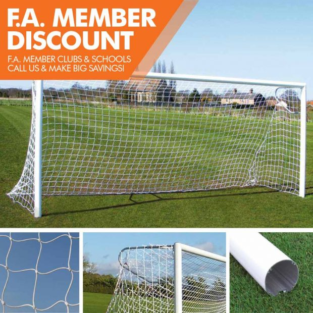 Mark Harrod Ltd Standard Aluminium Football Goal Package