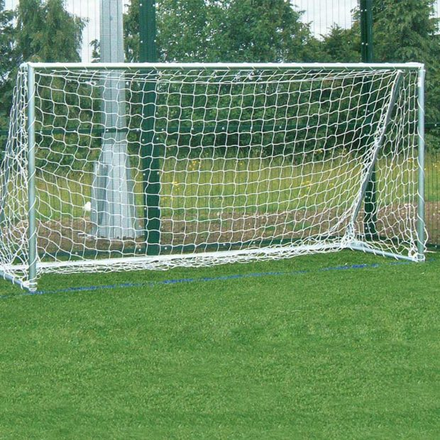 Heavy Duty Fixed Football Goal Package