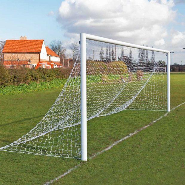 Aluminium Quick Release Football Goal Package