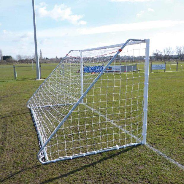 Heavy Duty Folding 16 x 6 Football Goal Package