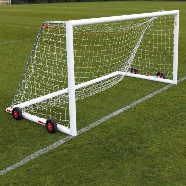 Aluminium Easylift Football Goal Package