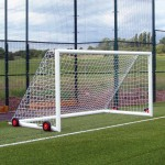 100mm Aluminium EasyLift Football Goal