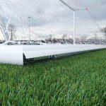 Aluminium Self Weighted Roller Bar Football Goal