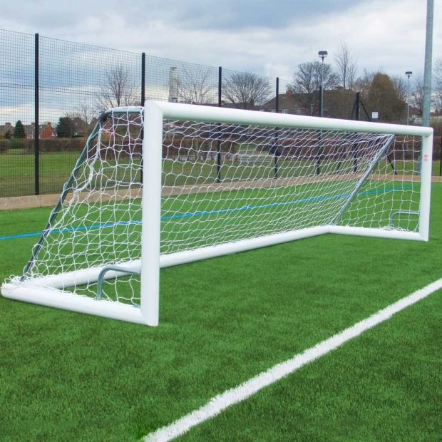 Self Weighted Roller Bar Football Goal
