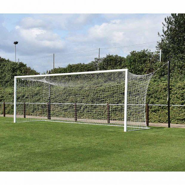 Professional Aluminium Top Flight 24 x 8 Football Goal Package