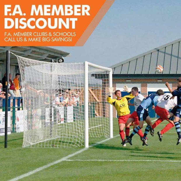 Mark Harrod Ltd Professional Top Flight Football Goal Package