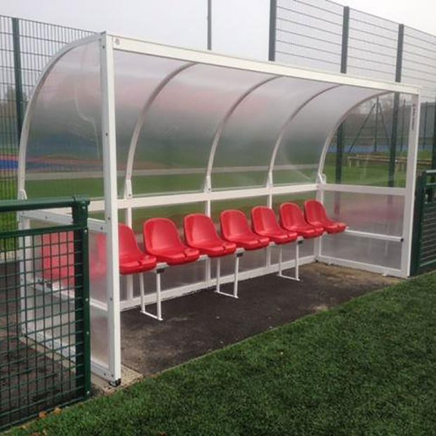 Mark Harrod Ltd Aluminium Team Shelter With Bucket Seats