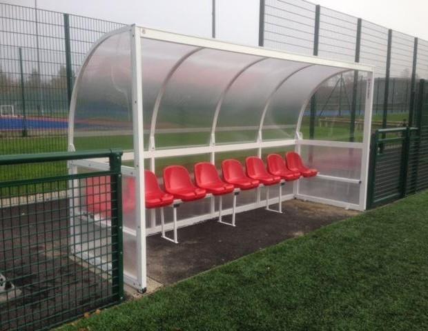 Mark Harrod Aluminium Team Shelter Supplied With Bucket Seats