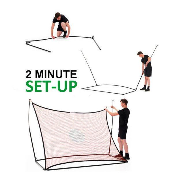 Quickplay Rebounder Ultra Portable 2 Minute Set-up
