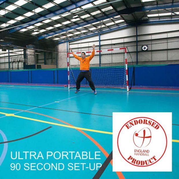 Quickplay Handball Goal Endorsed By England Handball