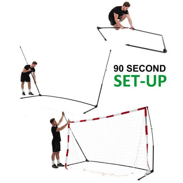 Quickplay Handball Goal 90 Second Set-up