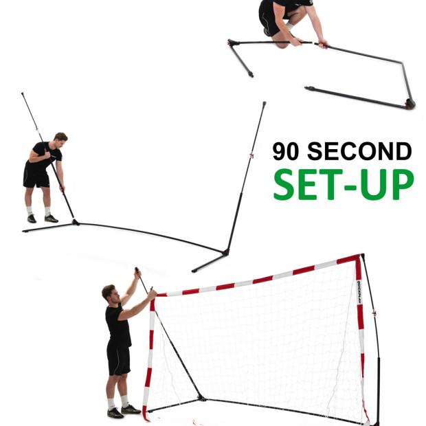 Senior Handball Goal 3m x 2m Setup