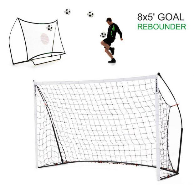 Quickplay Elite Combo Goal Rebounder 8'x5'