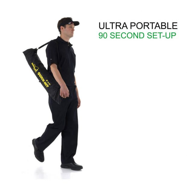 Quickplay Quick-hit 8'x8' Multi-sport Training Ultra Portable 90 Second Set-up