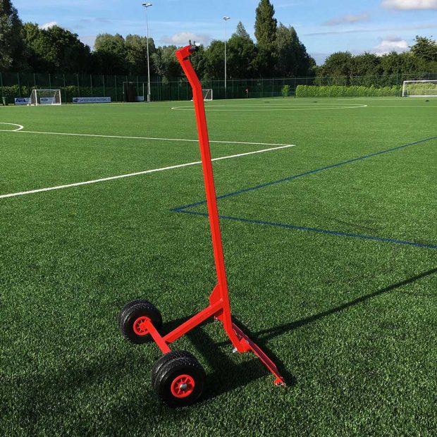 Easy-Move Football Goal Trolley