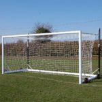Top Flight Easylift Aluminium 9v9 Football Goal Package
