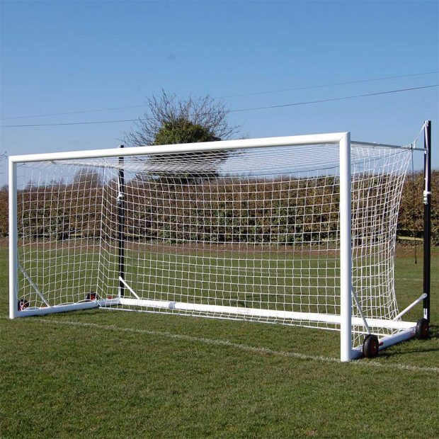 Top Flight Easylift Aluminium 9v9 Football Goal Package