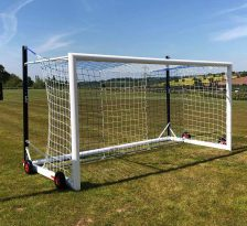 FOT 605F 12X6 TOP-FLIGHT EASYLIFT MINI SOCCER FOOTBALL GOAL