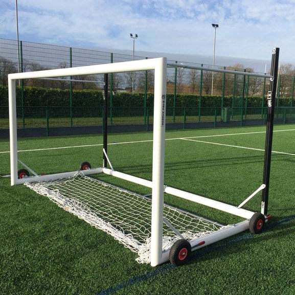 Top Flight Easylift Aluminium Mini-Soccer Football Goal Package Net