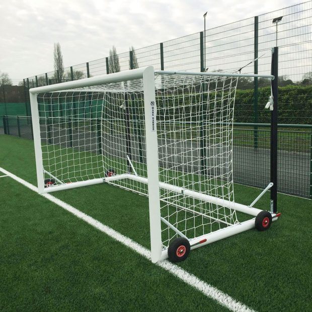 Top Flight Easylift Aluminium Mini-Soccer Football Goal Package